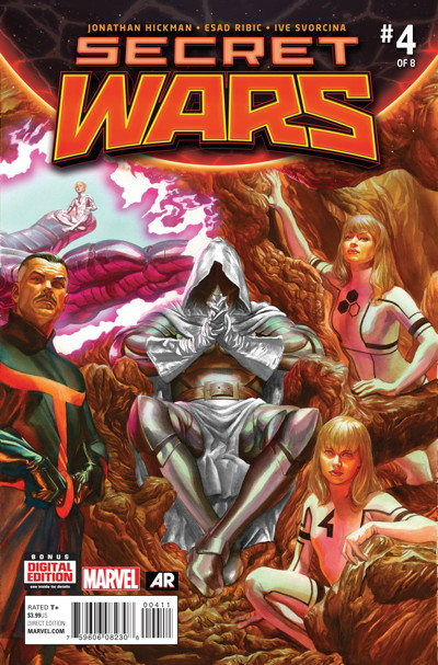 Secret Wars #4