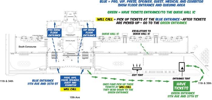 NYCC15 Fan-Entrance-Plan