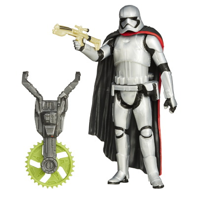 STAR WARS TFA BUILD-A-WEAPON 3.75IN_Captain Phasma