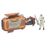 STAR WARS TFA CLASS I DELUXE VEHICLE_Rey Speeder