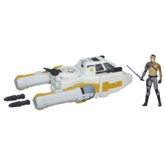 STAR WARS TFA CLASS I DELUXE VEHICLE_Y Wing Scout