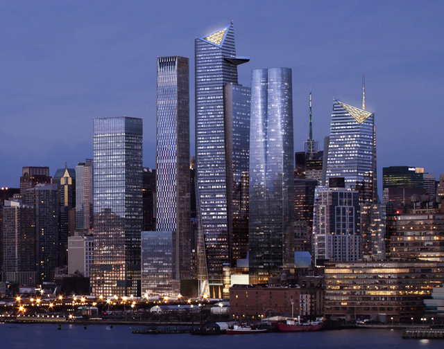 hudson yards skyline