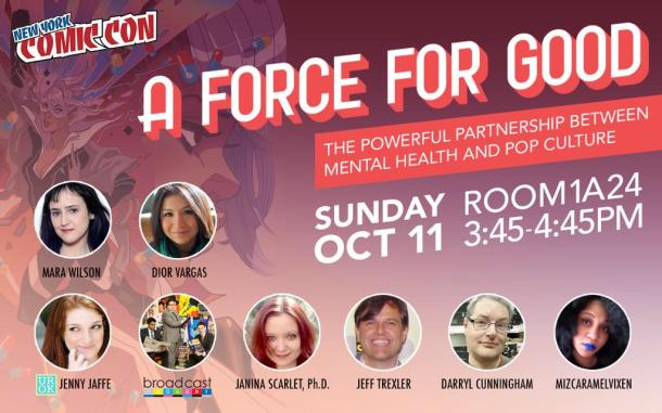 A Force For Good panel