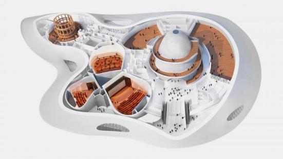 Lucas museum interior plan