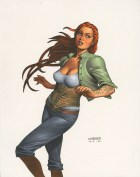 SAVED WHISKERS RESCUE - DAMSELS #3 COVER Joseph Michael Linsner
