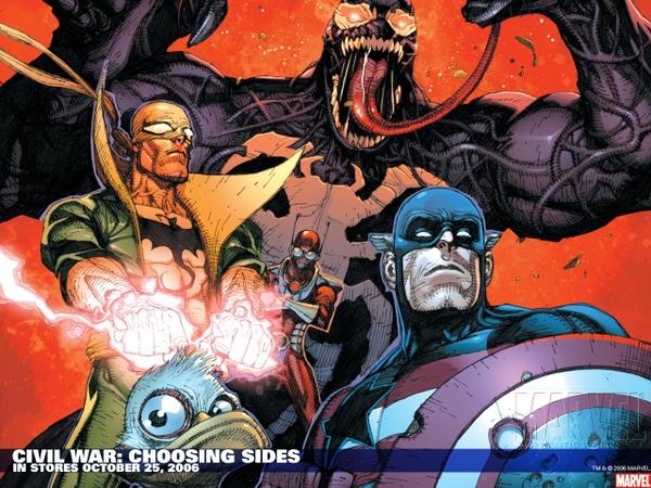 comics venom captain america iron fist marvel comics civil war antman howard the duck_wallpaperswa.com_74