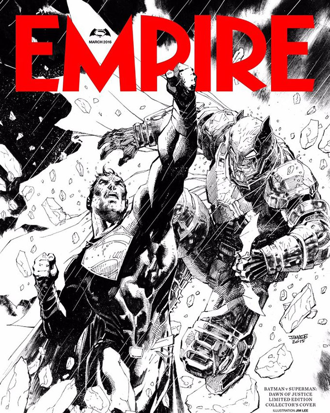 batman v superman empire