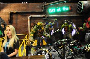 Teenage Mutant Ninja Turtle Statues from the movie