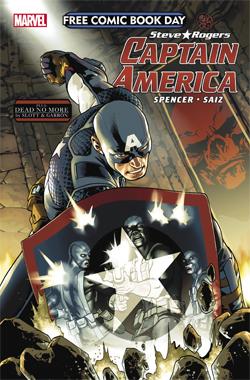 FCBD Marvel Capt America 2016