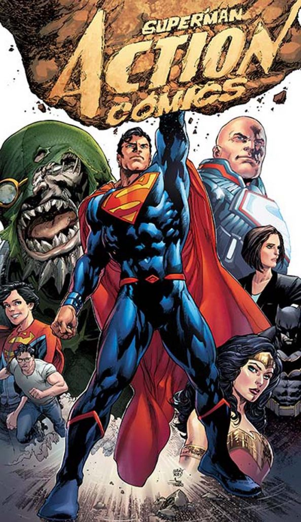 Image result for action comics rebirth