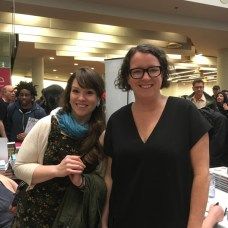 Kate Beaton and D&Q publisher Peggy Burns