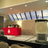 The stage is set for the Doug Wright Awards!