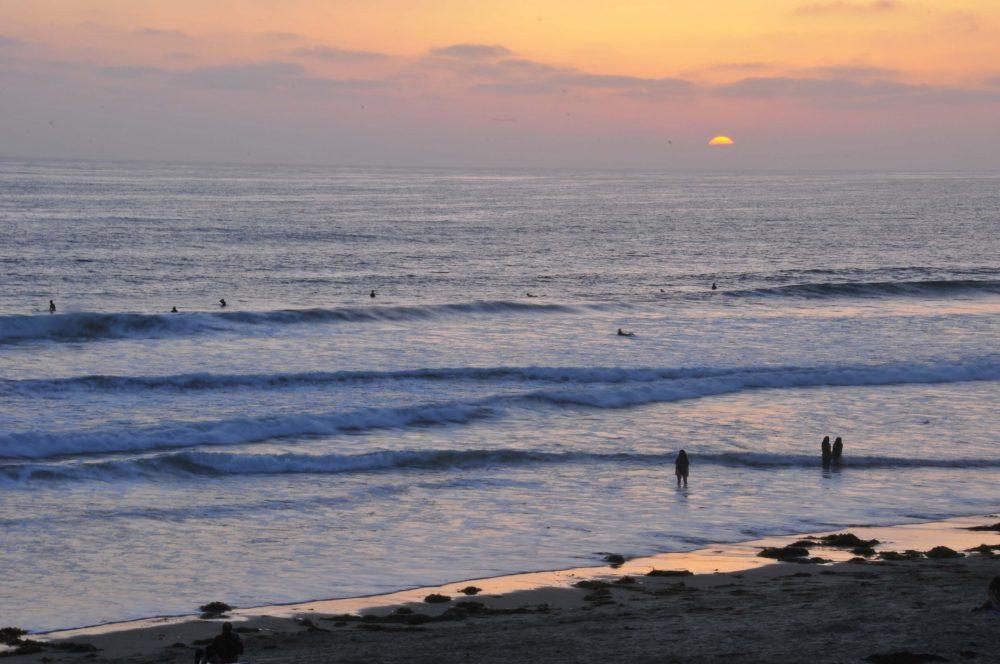 Sunset at Black's Beach