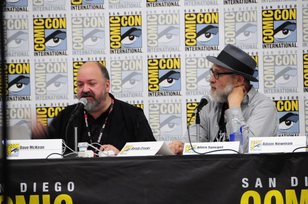 Left to right: Dave McKean and Allen Spiegel