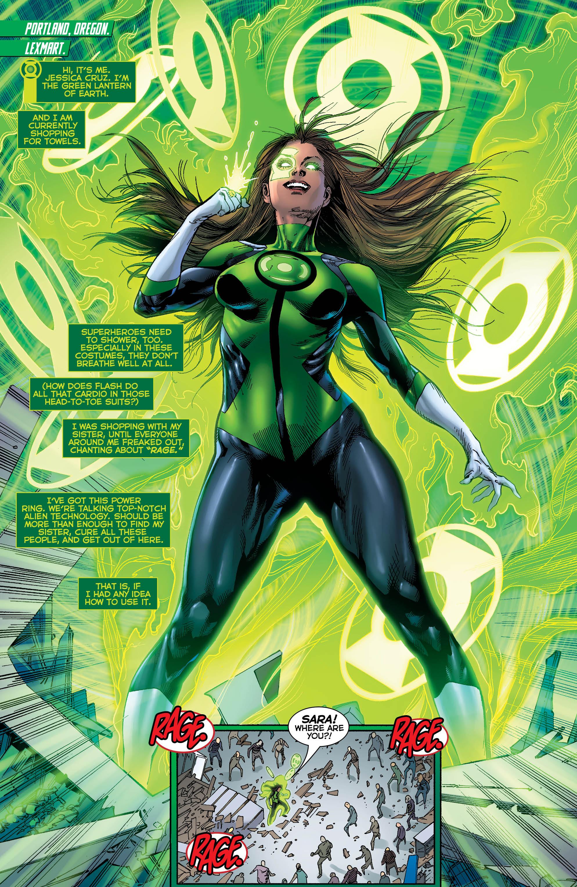 Dc Reborn Review Green Lanterns 2 Fails To Reignite A Flagging