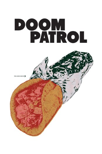 Doom Patrol #1 cover by Nick Derington