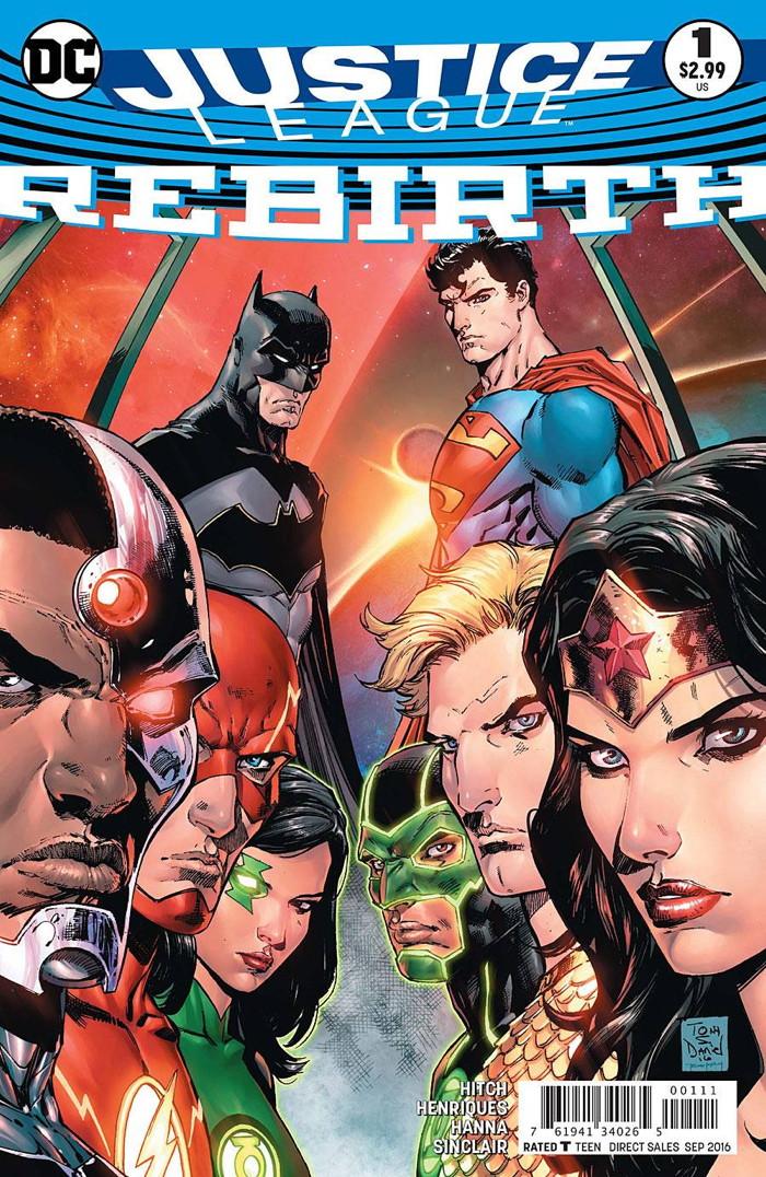 Justice League Rebirth #1
