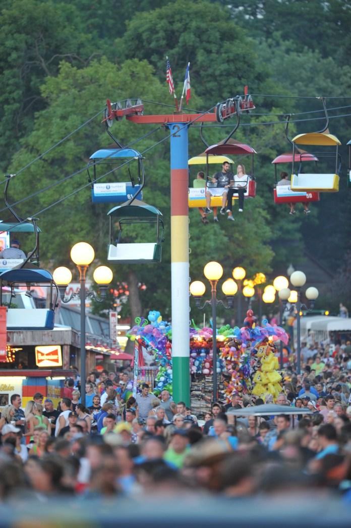 iowa state fair concourse