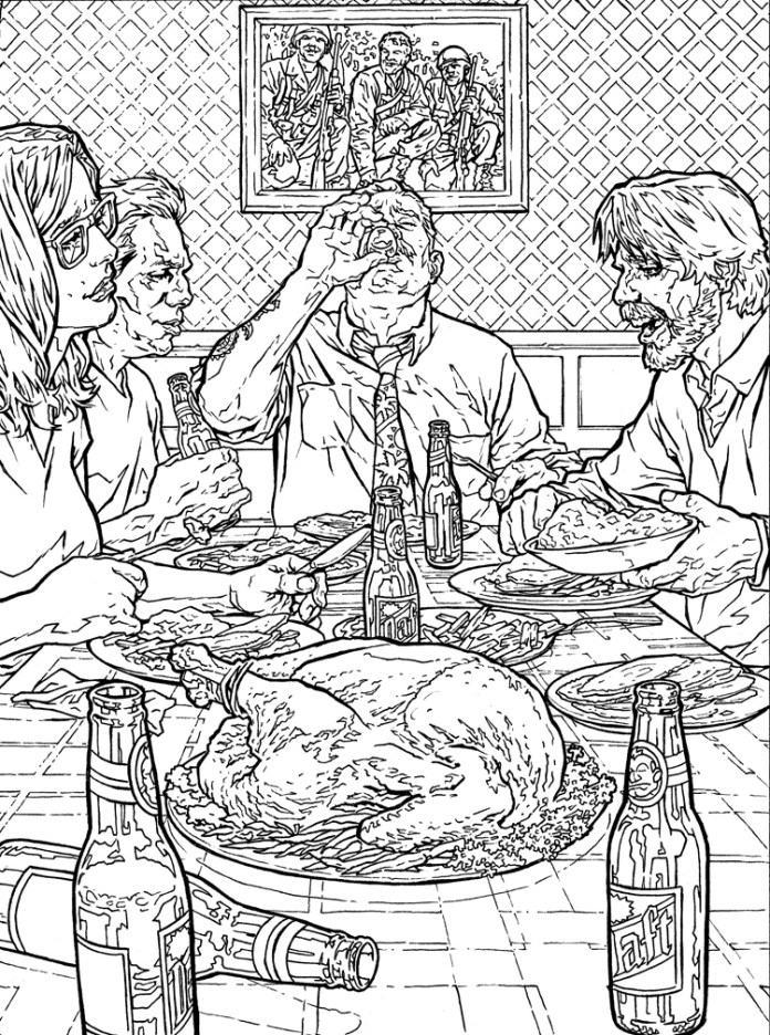 Dad All Over, Illustrated by Lee Bermejo