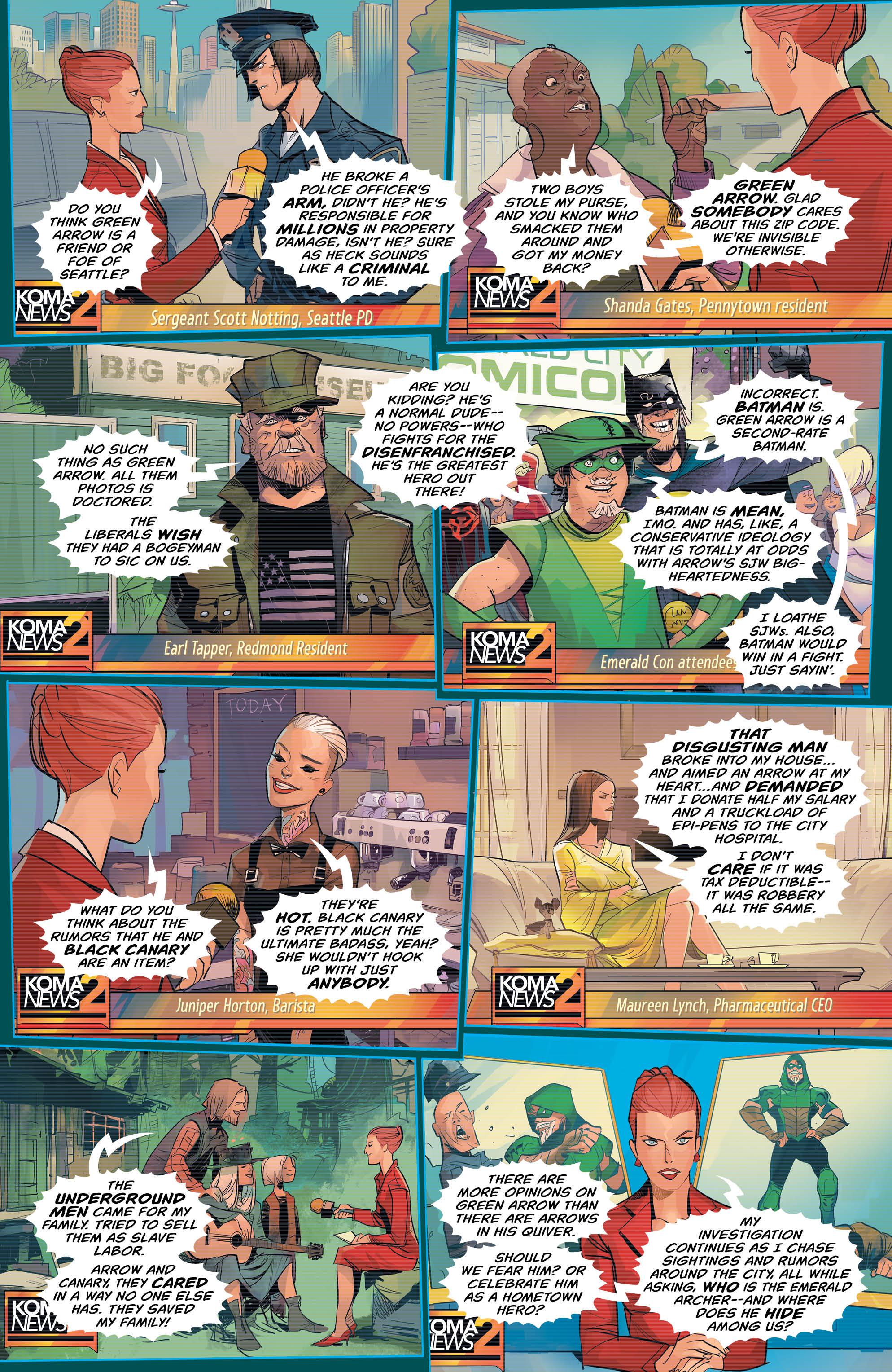 DC REBORN ROUND-UP: GREEN ARROW and NIGHTWING Undergo New