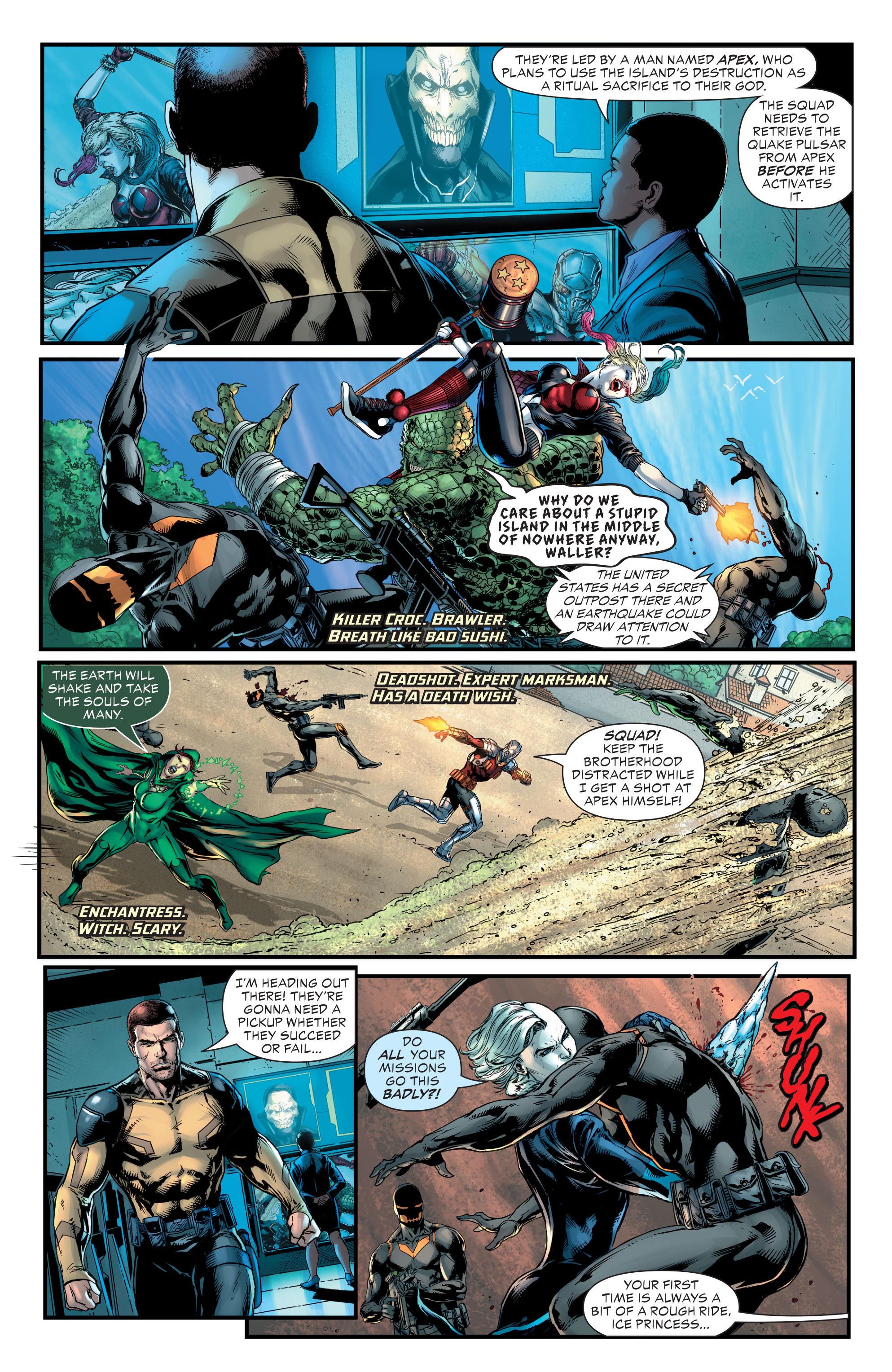 DC REBORN ROUND-UP: Amanda Waller Scrutinized in BATMAN #13