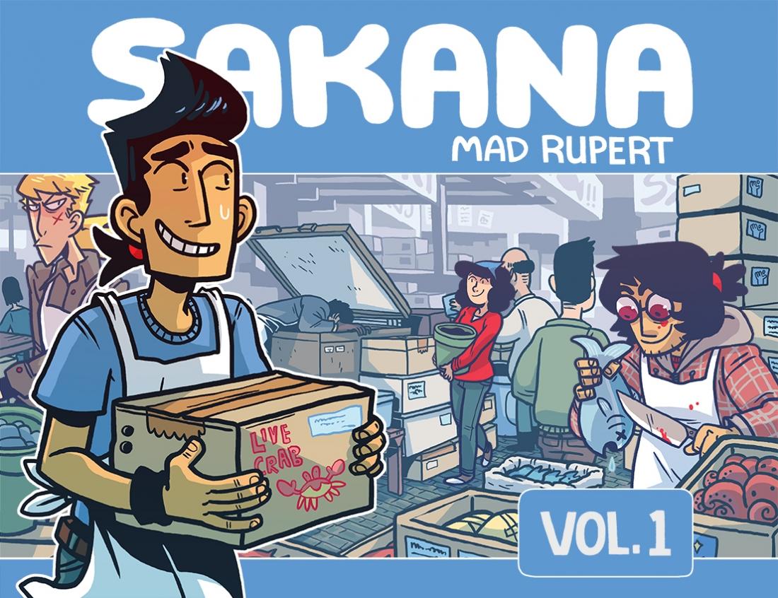 Webcomics in Review: Sakana - The Beat