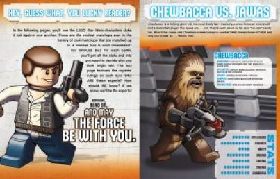 Excerpt from LEGO STAR WARS: FACE OFF. I'll put all my blocks on Chewie.