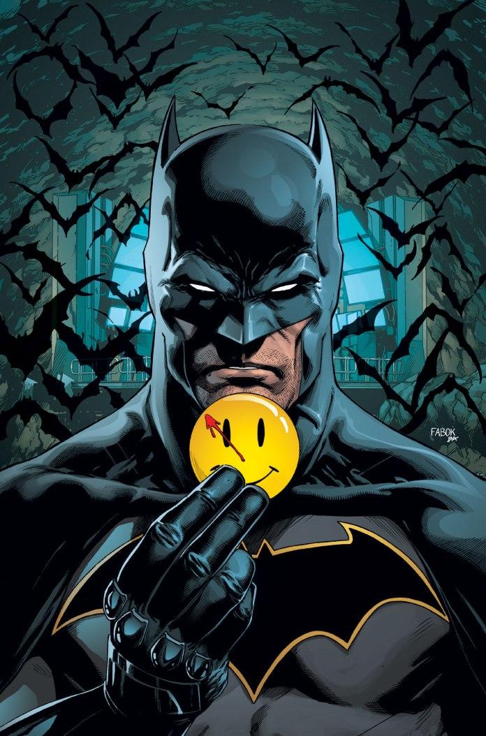 BATMAN IMAGE FROM THE BATMAN #21 LENTICULAR COVER