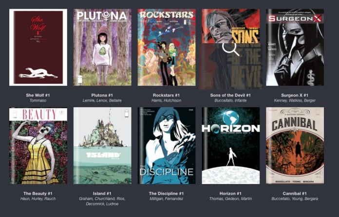 Humble Comics Bundle  IMAGE at 25  pay what you want and help charity .jpeg