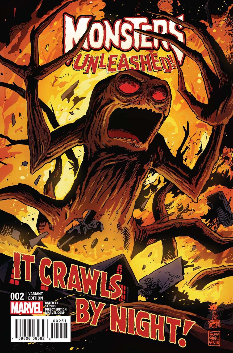 Monsters_Unleashed_2_Francavilla_Variant