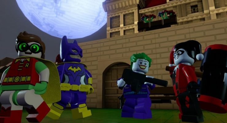 Play LEGO Batman's Big Screen Adventure in New Dimensions Story Pack