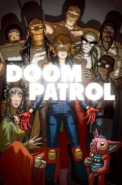 Doom Patrol 6 Cover