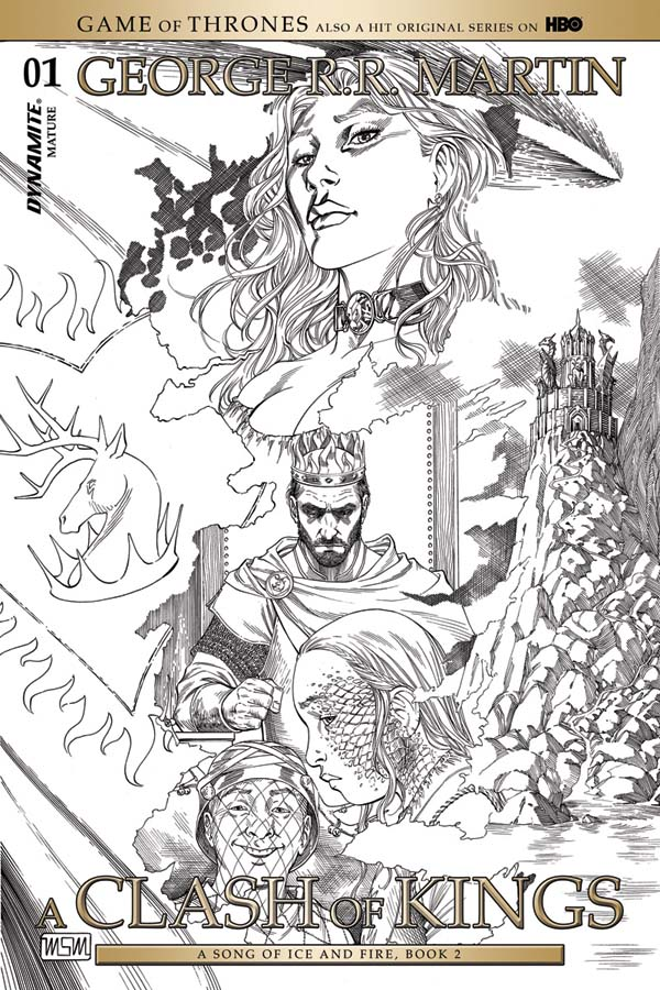 More Game Of Thrones Comics A Clash Of Kings Gets An Adaption In