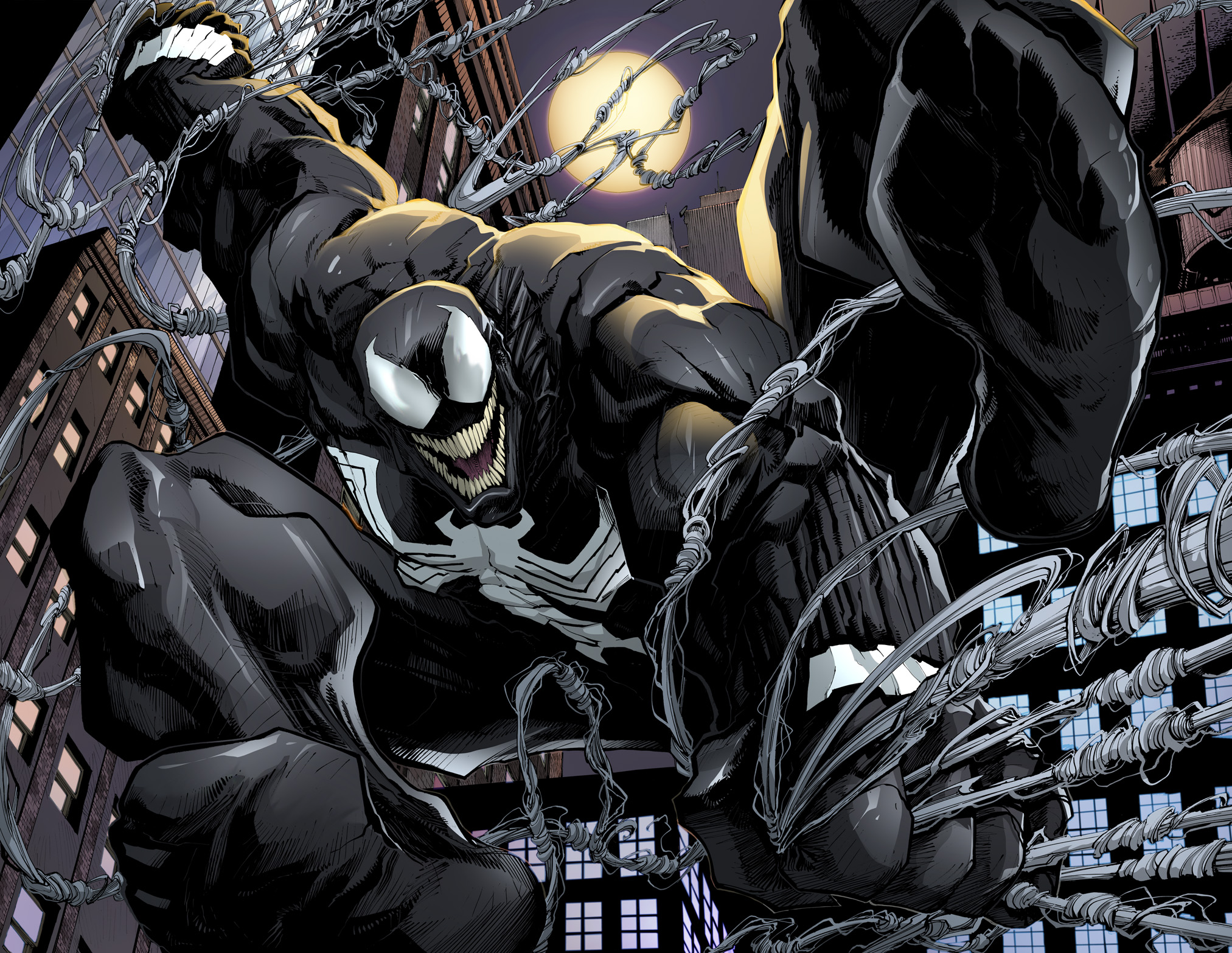 Eddie Brock IS BACK in Venom #6, Here's your First Look