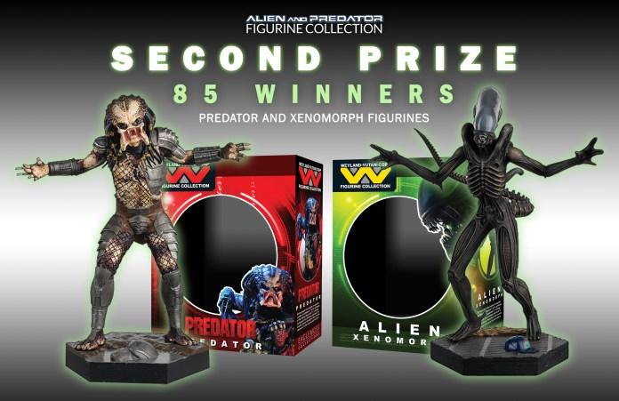 2nd prize- xenomorph and predator