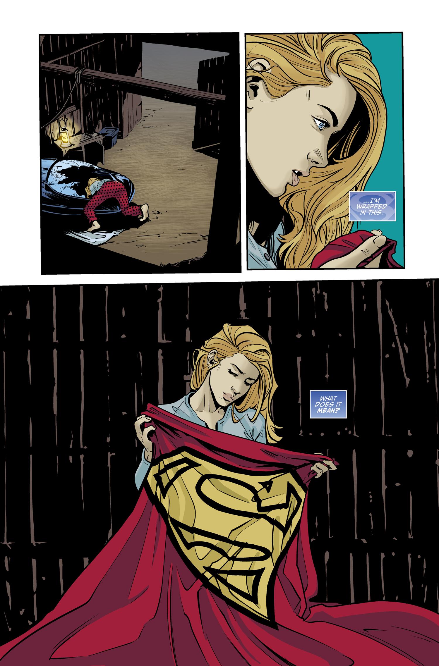 Image result for supergirl being super #2