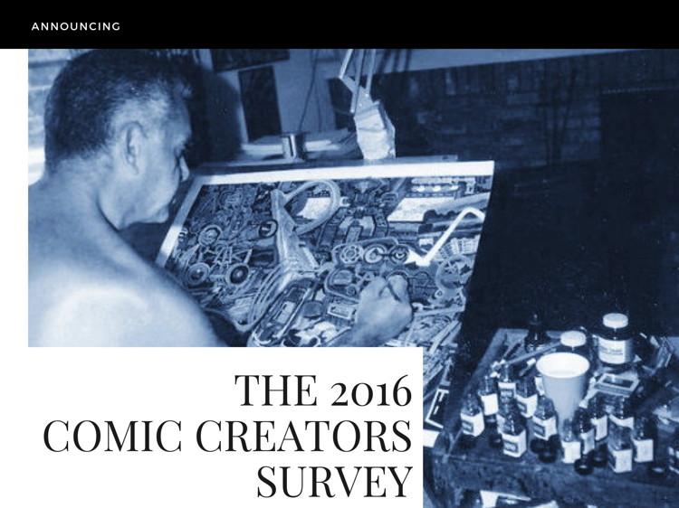 The 2016 Comic Creators Survey 00001