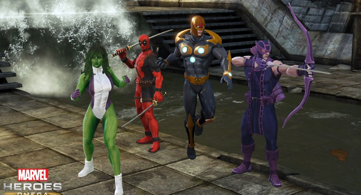 PSA: Prepare to dive into the house of ideas, Marvel Heroes Omega open beta is live.