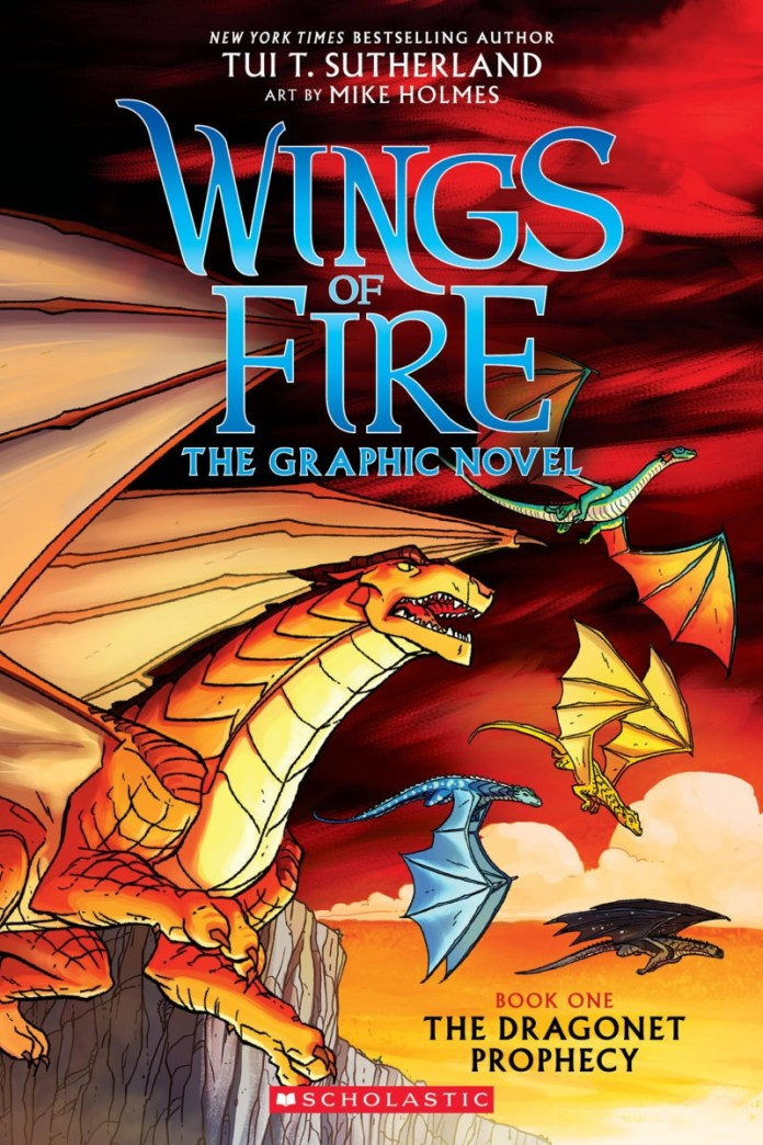 WINGS OF FIRE GRAPHIX #1 front cover