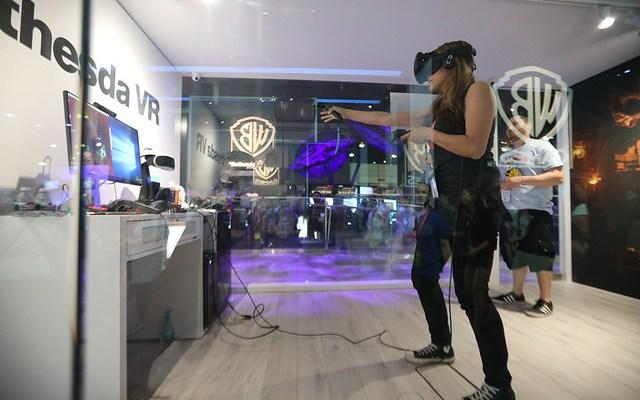 NO SPANDEX SATURDAY: VR is alive at E3 2017.