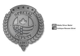 WE Special Deputy Pin