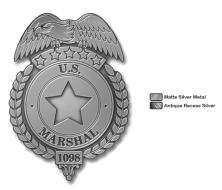 WE US Marshal Pin