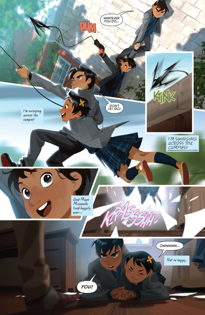 Gotham Academy's Second Semester ends today and we sign its