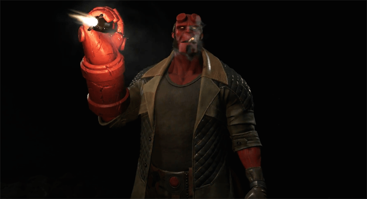 Hellboy is Coming to Injustice 2 in The Next Fighters Pack
