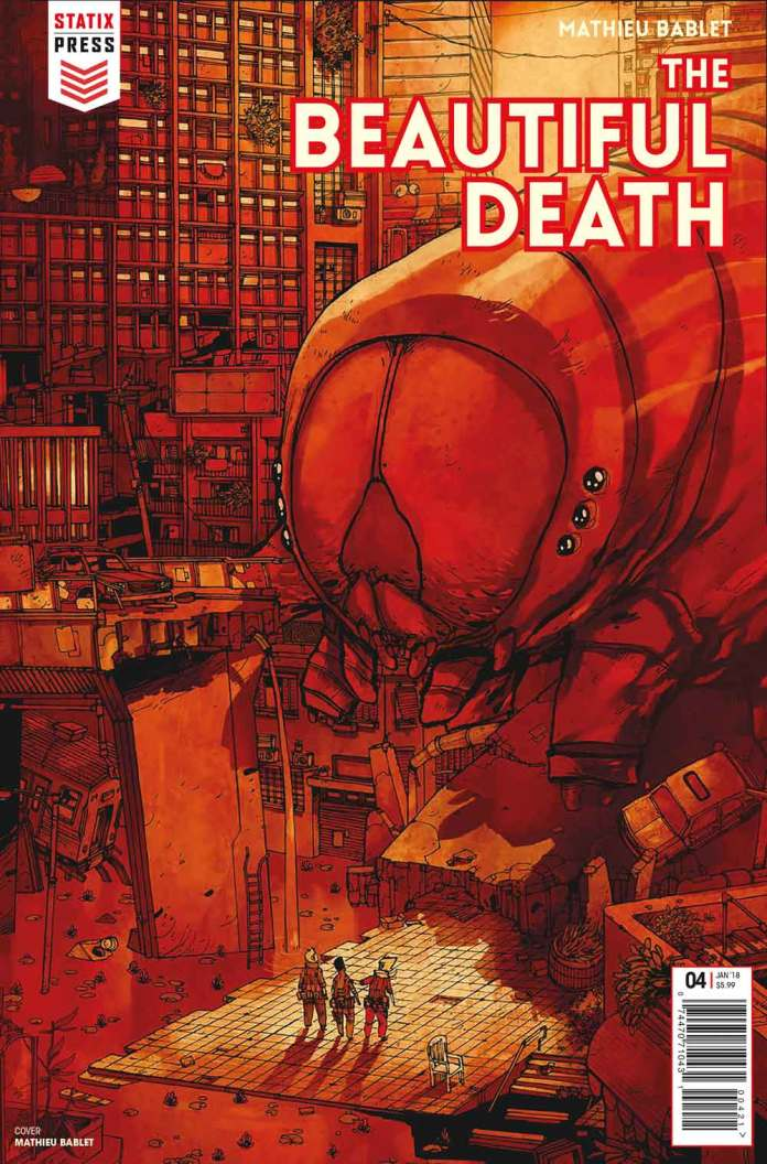The Beautiful Death 4 Cover A