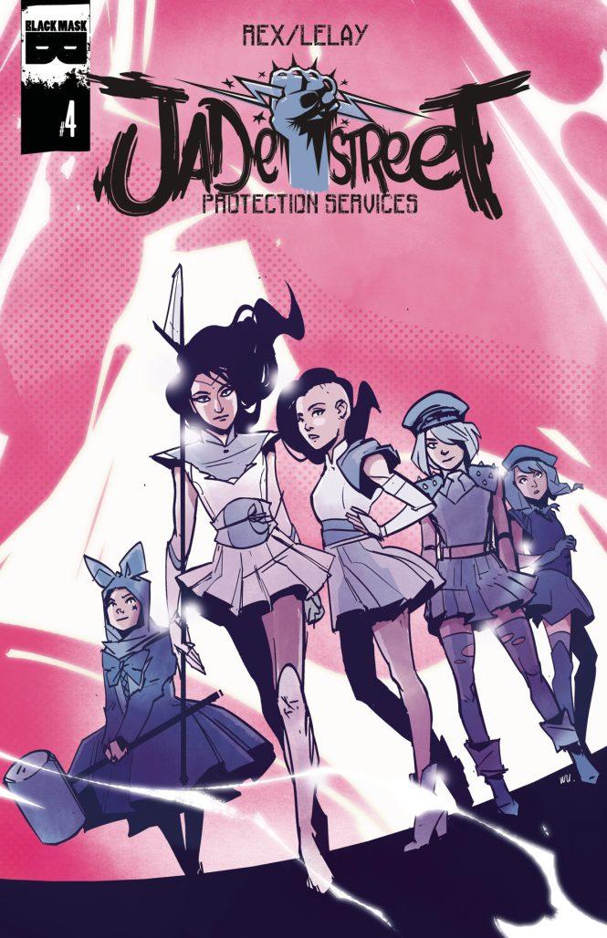 LeLay Jade Street Comics Cover