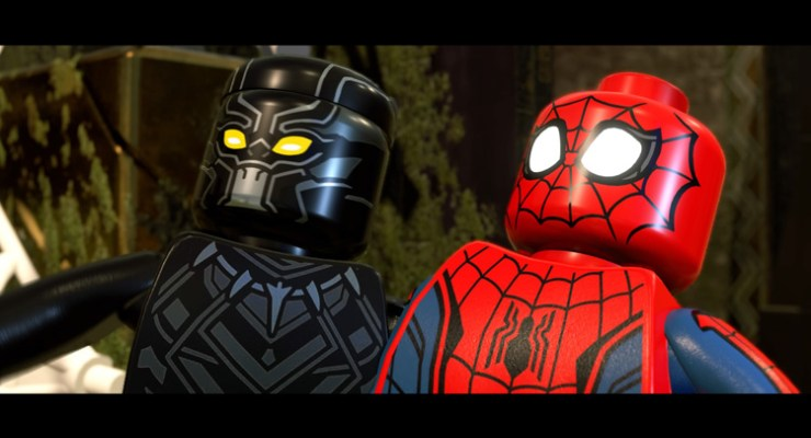 REVIEW: LEGO MARVEL SUPER HEROES 2, Soo Many Spiders.