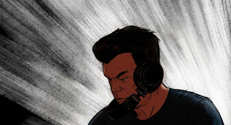 DJ legend Paul Oakenfold tours with a new graphic novel, The World of Perfecto