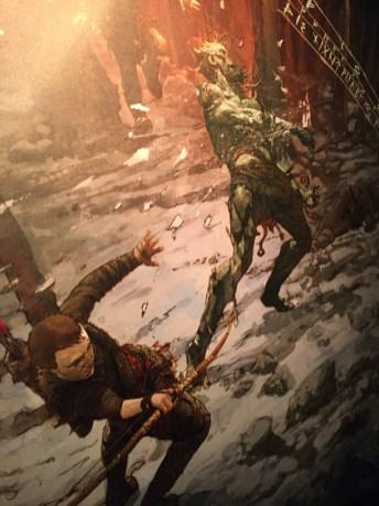 God of War inspired art