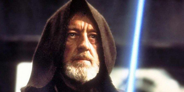 watching star wars for the first time - alex guinness